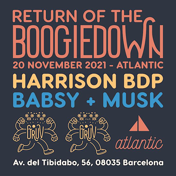 Imagen de Gruv: Return of the Boogiedown #2 Harrison BDP, Babsy, Musk