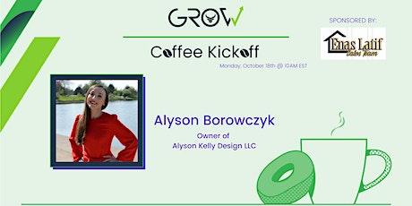 Virtual Coffee Kickoff - Alyson Borowczyk tickets