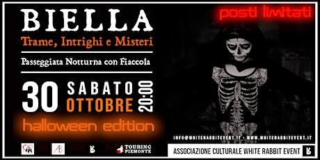 BIELLA: Trame, Intrighi e Misteri - Halloween Edition biglietti