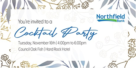 Northfield Bank Cocktail Party tickets
