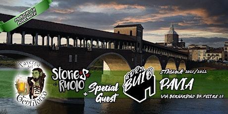 Gdr al Buio PAVIA  @La Taverna del Gentilorco - S6E02 biglietti