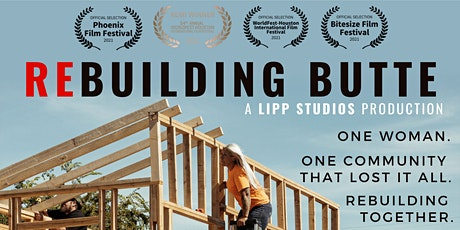 """Virtual Premiere of """"ReBuilding Butte"""" - A Short Documentary tickets"""