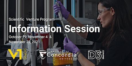 Scientific Venture Program Info Session tickets