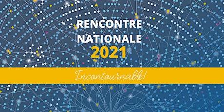 Rencontre nationale 2021 de la FQOCF - Incontournable ! billets