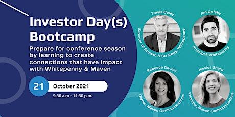 Investor Day[s] Bootcamp tickets