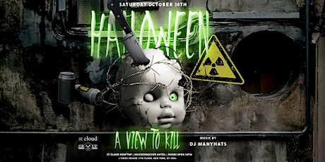 A View To Kill Halloween Party @ St Cloud Rooftop NYC - Saturday 10/30 tickets