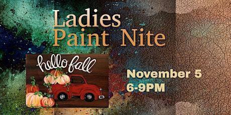 Ladies Paint Nite tickets