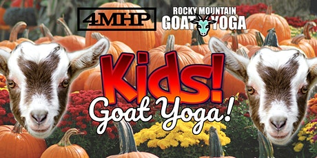 Baby Goat Yoga for Kids - October 24th (FOUR MILE HISTORIC PARK) tickets