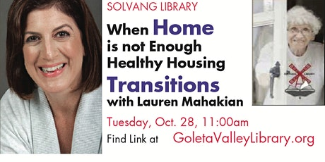 When Home is Not Enough: Healthy Housing Transitions with Lauren Mahakian tickets