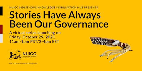 Stories Have Always Been Our Governance Series Launch tickets