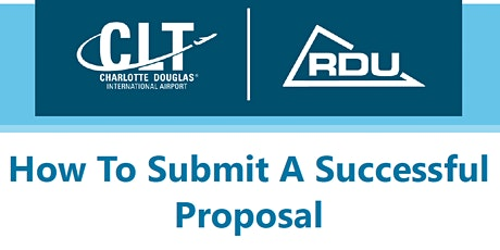 How to Submit a Successful Proposal - Airport Edition tickets
