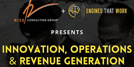Innovation, Operations, and Revenue Generation: A Free Training tickets