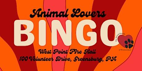 Animal Lovers BINGO! tickets