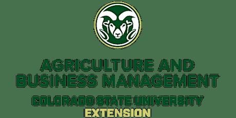 Colorado Crop Insurance Workshop tickets