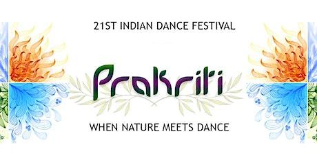 KAOC 2021 Indian Dance Festival - PRAKRITI tickets