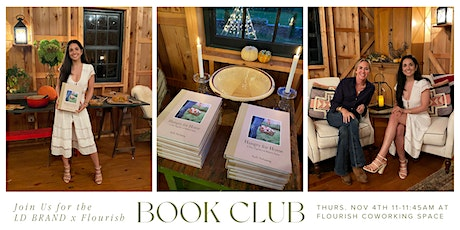 LD Brand x Flourish Book Club // Discussing Hungry for Home by Ruth McKeany tickets