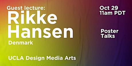 Poster Talks #2 by Rikke Hansen / Denmark entradas