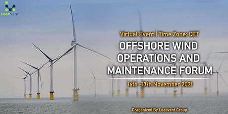 Offshore Wind Operations and Maintenance Forum tickets