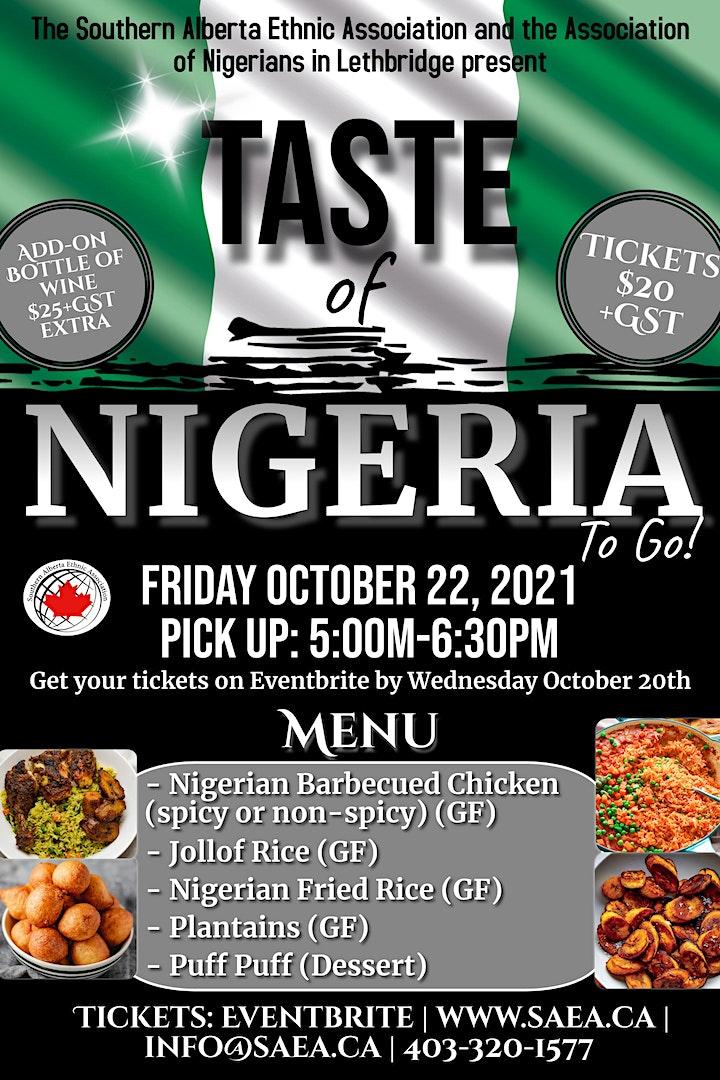 Taste of Nigeria To Go! image