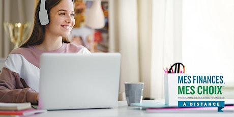 Ateliers virtuels Mes finances, mes choix billets