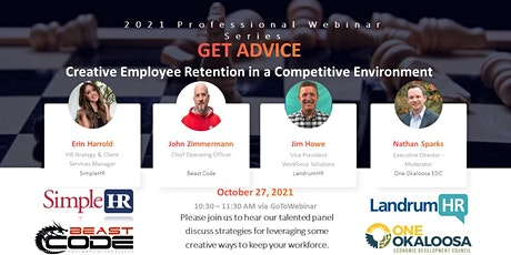 Creative Employee Retention in a Competitive Environment tickets