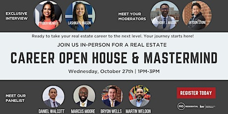 Real Estate Career Open House & Mastermind tickets
