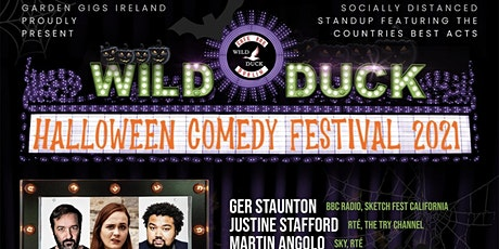 The Wild Duck Halloween Comedy Festival! TUESDAY, OCTOBER 19TH 2021 tickets