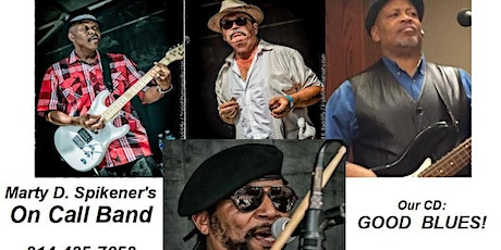Marty D. Spikener & the On Call Band at Joe's Cafe! tickets