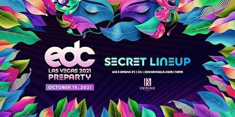 EDC Pre-Party ft. Secret Line-Up tickets