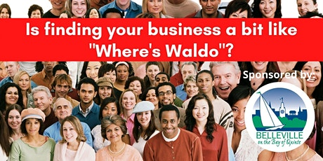 Is Finding Your Business Like 'Where's Waldo'? tickets