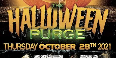 Halloween purge tickets