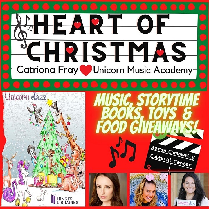 Heart of Christmas Food, Toy and Book Donation Drive image
