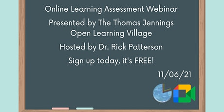 Online Learning Assessment Webinar tickets