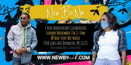 NEW by Nik 1year Anniversary tickets