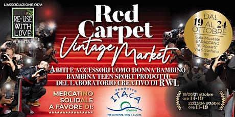 Reuse With Love Odv - Red Carpet Vintage Market biglietti