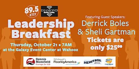 2021 89.5 KTSY Leadership Breakfast tickets