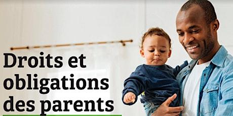 Conférence: Droits et obligations des parents envers leurs enfants billets