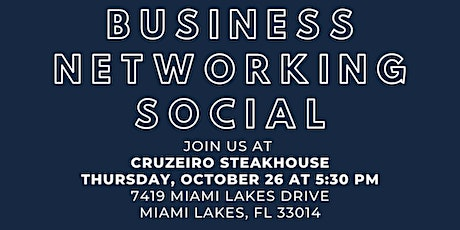 Business Networking Social tickets