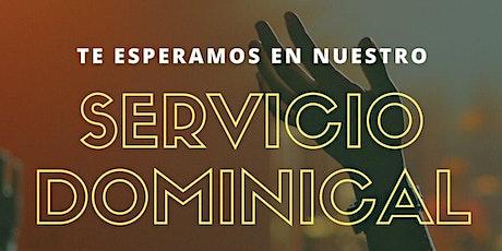 1er. Servicio Dominical - Domingo 17 de Octubre entradas