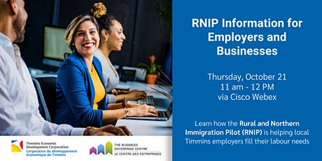 RNIP Information for Employers and Businesses - Webinar tickets