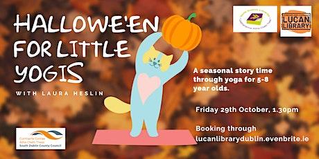 Hallowe'en for Little Yogis tickets