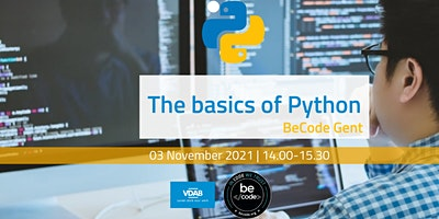 BeCode Gent – Basics of Python