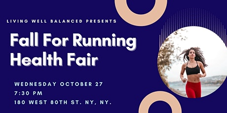 Fall for Running : A Night of Runner's Self Care tickets
