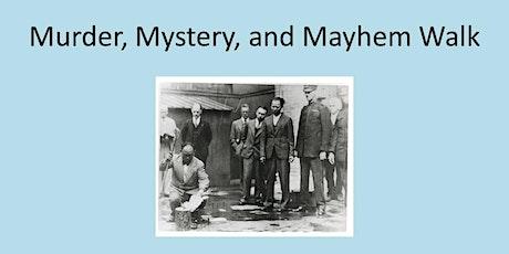 Murder, Mystery & Mayhem Walk billets