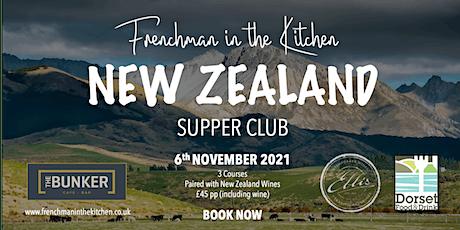 New Zealand Supper Club tickets