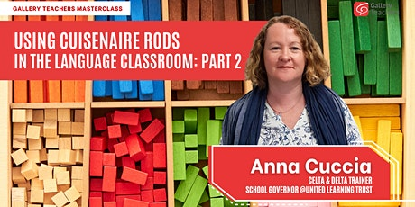 Using Cuisenaire Rods in the Language Classroom: Part 2 tickets