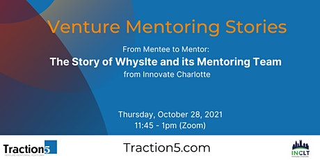 Venture Mentoring Stories: From Founder to Mentor tickets