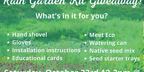 AWR! Rain Garden Kit Giveaway tickets