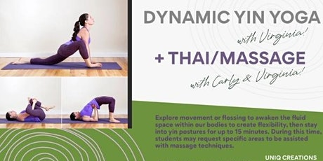 Dynamic Yin Yoga + Massage tickets