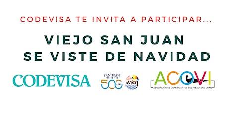 Viejo San Juan se viste de Navidad ¡Participa y gana! tickets